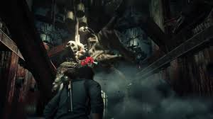 PsychoBreak2のプレイ画面